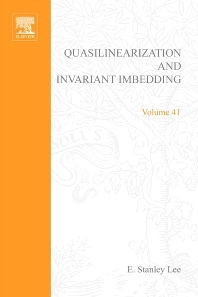 Cover image for Quasilinearization and invariant imbedding, with applications to chemical engineering and adaptive control