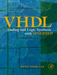 Cover image for VHDL Coding and Logic Synthesis with Synopsys