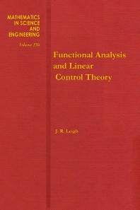 Functional Analysis and Linear Control Theory - 1st Edition - ISBN: 9780124418806, 9780080959986