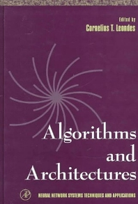 Algorithms and Architectures, 1st Edition,Cornelius Leondes,ISBN9780124438613