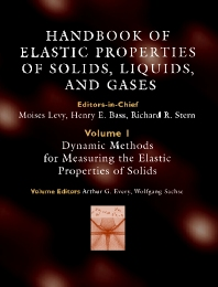 Cover image for Handbook of Elastic Properties of Solids, Liquids, and Gases, Four-Volume Set