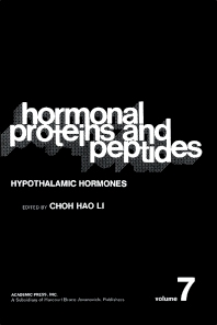 Hypothalamic Hormones - 1st Edition - ISBN: 9780124472075, 9780323155137