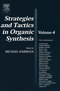 Strategies and Tactics in Organic Synthesis, 1st Edition,Michael Harmata,ISBN9780124502833