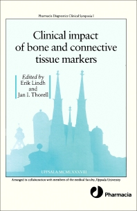 Cover image for Clinical Impact of Bone and Connective Tissue Markers