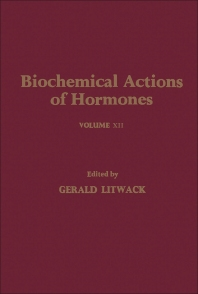 Biochemical Actions of Hormones V12 - 1st Edition - ISBN: 9780124528123, 9780323146340