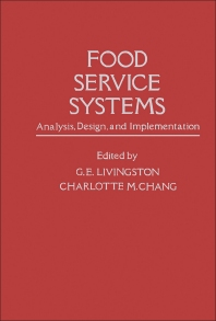 Food Service Systems  - 1st Edition - ISBN: 9780124531505, 9780323148030
