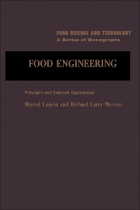 Food Engineering - 1st Edition - ISBN: 9780124545502, 9780323147484