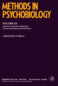 Methods in Psychobiology - 1st Edition - ISBN: 9780124610033, 9781483266978