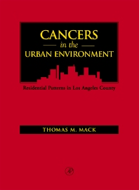 Cover image for Cancers in the Urban Environment