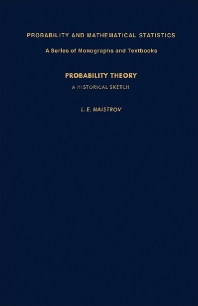 Probability Theory - 1st Edition - ISBN: 9780124657502, 9781483218632
