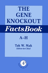 Cover image for The Gene Knockout Factsbook, Two-Volume Set
