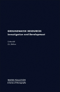 Groundwater Resources - 1st Edition - ISBN: 9780124680401, 9780323157827