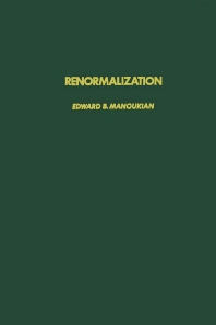 Cover image for Renormalization
