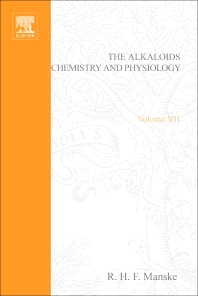 The Alkaloids: Chemistry and Physiology - 1st Edition - ISBN: 9780124695078, 9780080865317