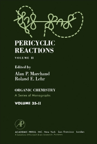 Pericyclic Reactions - 1st Edition - ISBN: 9780124705029, 9781483218656