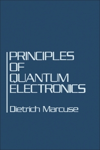 Principles of Quantum Electronics - 1st Edition - ISBN: 9780124710504, 9780323147637