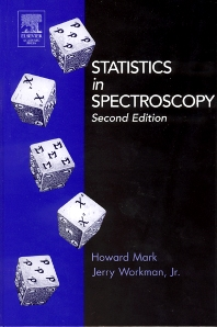 Cover image for Statistics in Spectroscopy