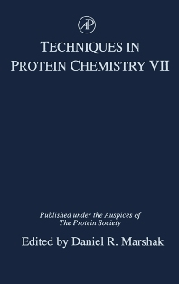 Techniques in Protein Chemistry, 1st Edition,Daniel Marshak,ISBN9780124735569