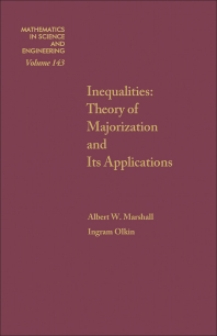 Inequalities - 1st Edition - ISBN: 9780124737501, 9780080959979