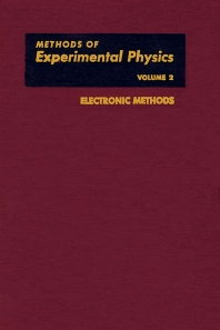 Electronic Methods - 1st Edition - ISBN: 9780124759022, 9780080859750