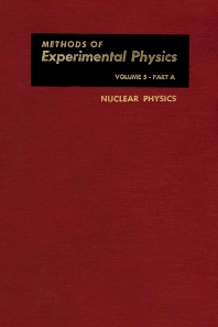 Nuclear Physics. Part A - 1st Edition - ISBN: 9780124759053, 9780080859798