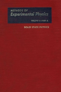 Cover image for Solid State Physics, Part A