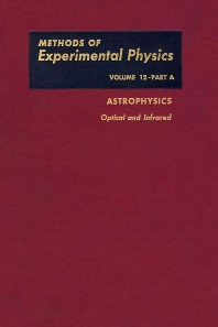 Cover image for Astrophysis Optical and Infrared