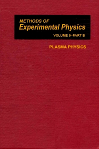 Plasma Physics - 1st Edition - ISBN: 9780124759497, 9780080859873