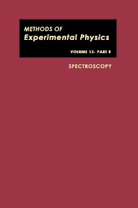 Spectroscopy - 1st Edition - ISBN: 9780124759541, 9780080859941