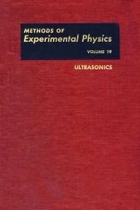 Ultrasonics - 1st Edition - ISBN: 9780124759619, 9780080860046
