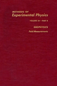 Geophysics Field Measurements - 1st Edition - ISBN: 9780124759671, 9780080860121