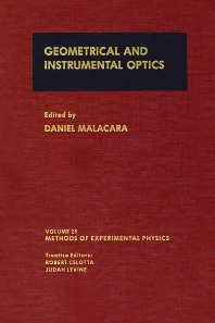 Cover image for Geometrical and Instrumental Optics