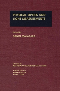 Physical Optics and Light Measurements - 1st Edition - ISBN: 9780124759718, 9780080860145
