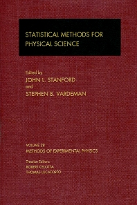 Statistical Methods for Physical Science - 1st Edition - ISBN: 9780124759732, 9780080860169