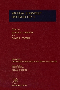 Cover image for Vacuum Ultraviolet Spectroscopy II