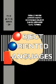 Object Oriented Languages, 1st Edition,UNKNOWN AUTHOR,ISBN9780124773905