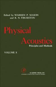 Physical Acoustics V10 - 1st Edition - ISBN: 9780124779105, 9780323151276
