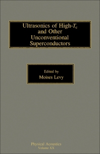 Cover image for Ultrasonics of High-Tc and Other Unconventional Superconductors