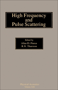 High Frequency and Pulse Scattering - 1st Edition - ISBN: 9780124779211, 9781483257709