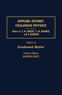 Condensed Matter - 1st Edition - ISBN: 9780124788046, 9781483218694