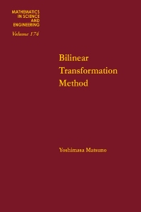 Bilinear Transformation Method - 1st Edition - ISBN: 9780124804807, 9780080958644
