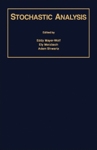 Stochastic Analysis - 1st Edition - ISBN: 9780124810051, 9781483218700