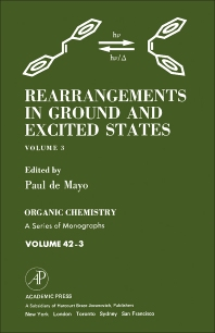 Rearrangements in Ground and Excited States - 1st Edition - ISBN: 9780124813038, 9781483218731