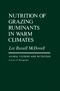 Cover image for Nutrition of Grazing Ruminants in Warm Climates