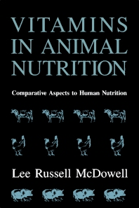 Cover image for Vitamins in Animal Nutrition