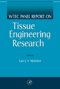Cover image for WTEC Panel Report on Tissue Engineering Research