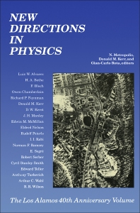 New Directions In Physics - 1st Edition - ISBN: 9780124921559, 9780323141314