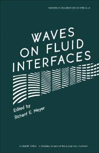 Waves on Fluid Interfaces - 1st Edition - ISBN: 9780124932203, 9781483265148