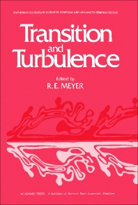 Transition and Turbulence - 1st Edition - ISBN: 9780124932401, 9781483264592