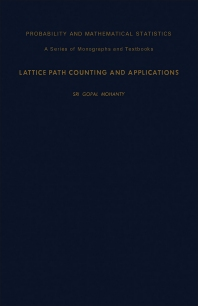 Lattice Path Counting and Applications - 1st Edition - ISBN: 9780125040501, 9781483218809